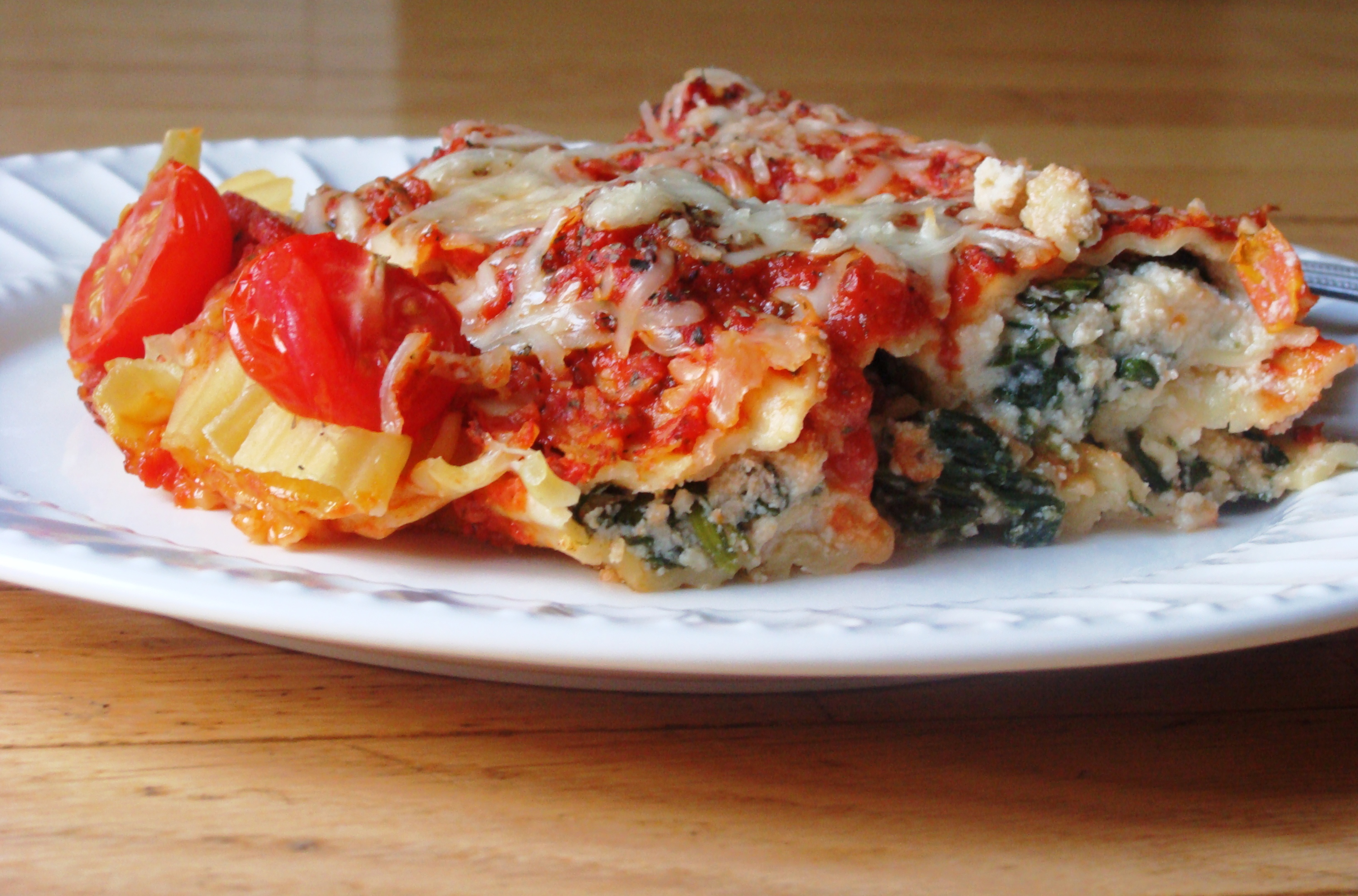 Cannelloni Stuffed with Spinach and Cheese | Diethood