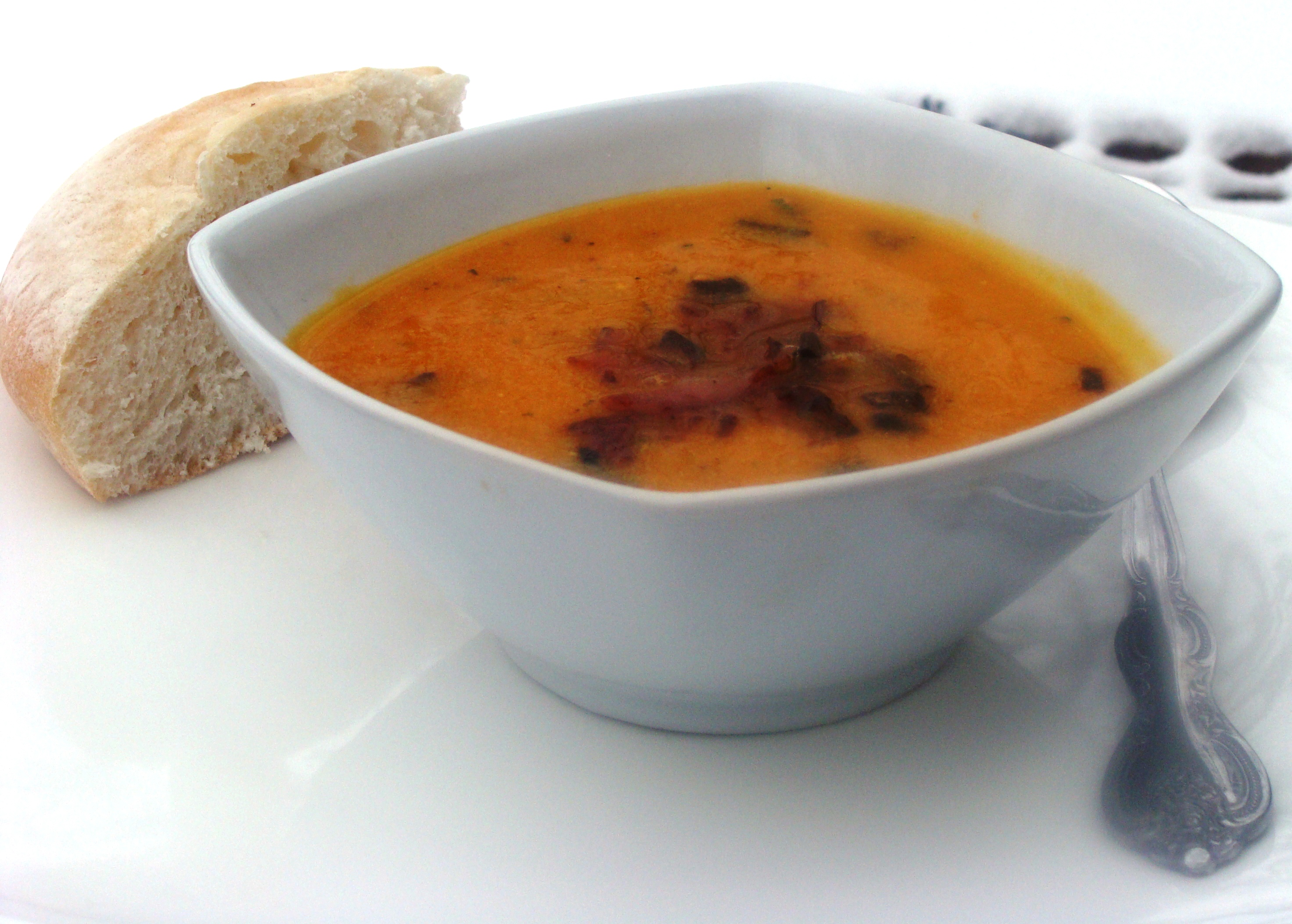 Roasted Butternut Squash Soup | Diethood