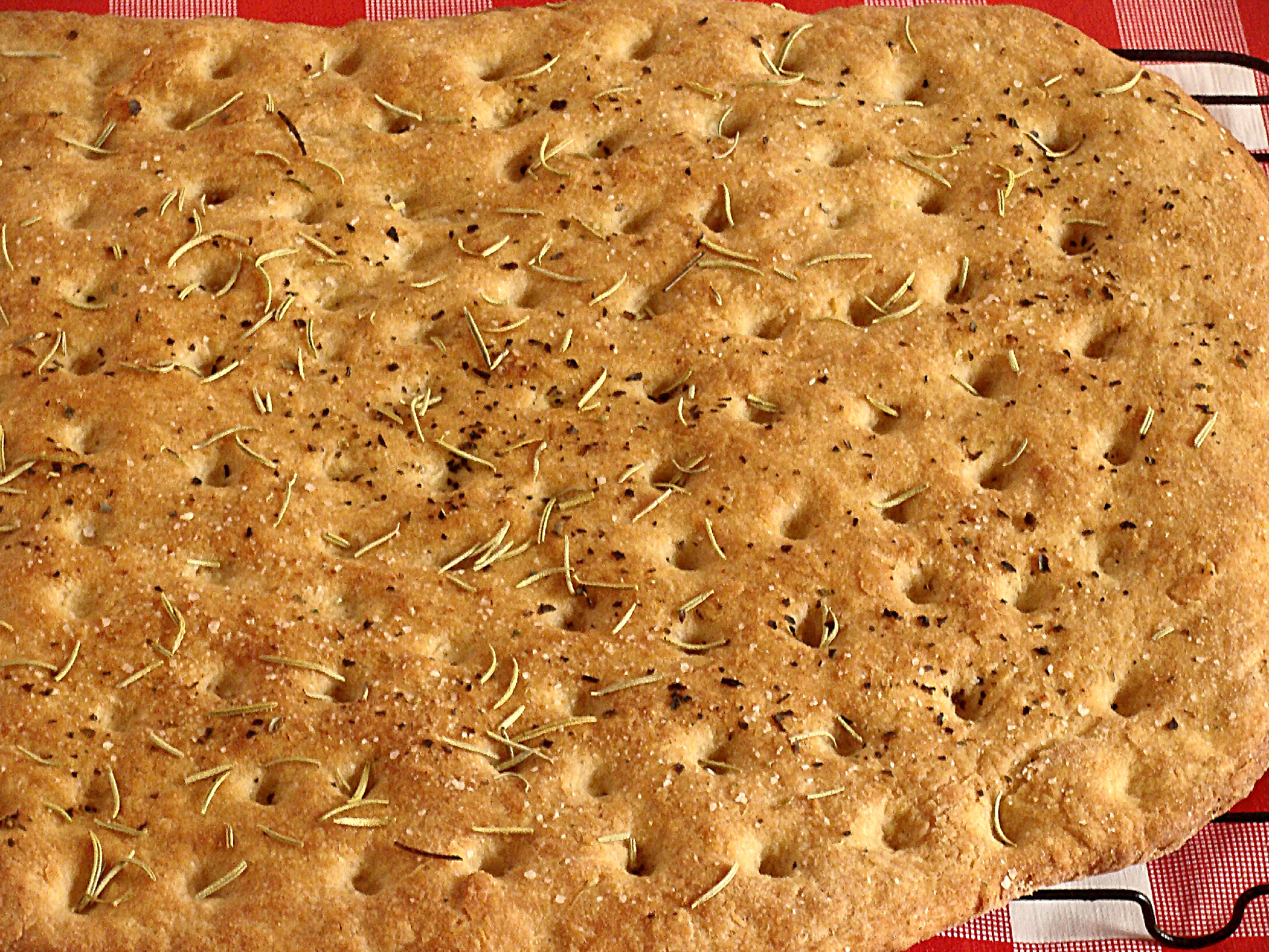dsc00531 Whole Wheat Focaccia Bread
